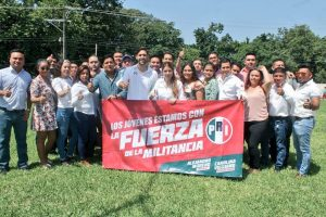 Jóvenes darán el triunfo a Alejandro Moreno el próximo domingo: Haro Ramírez.