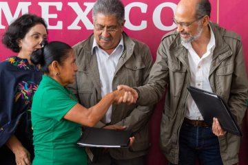 La Secretaría de Desarrollo Agrario, Territorial y Urbano (SEDATU) resolvió un conflicto agrario en el municipio hidalguense de Huejutla de Reyes.