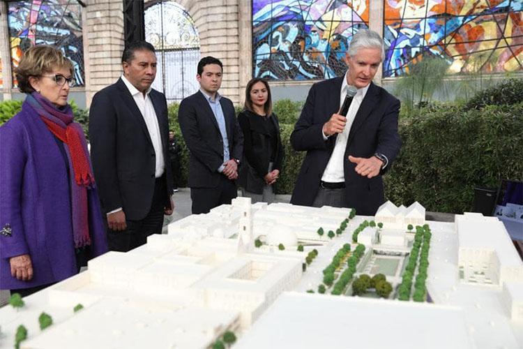 Presenta Alfredo del Mazo proyecto de urbanismo de vanguardia en el corazón de la capital mexiquense