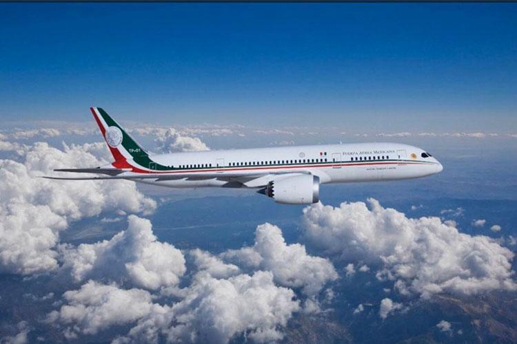 Lanzan concurso de cuento sobre el avión presidencial