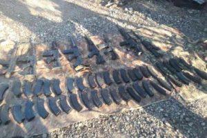 Asegura SEDENA en Nuevo Laredo y Camargo armamento y municiones