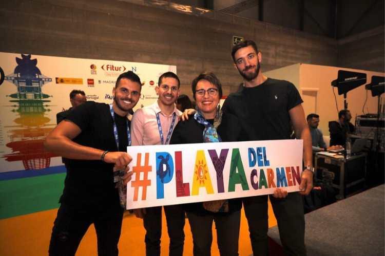 Promueven Playa del Carmen en FITUR 2020