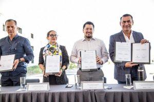 Sedatu, Infonavit y municipio de Tlajomulco firman convenio de recuperación de viviendas abandonadas