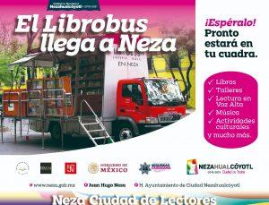 LibroBús recorrerá el municipio de Nezahualcóyotl