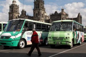 Cancelan megamarcha de transportistas en la CDMX
