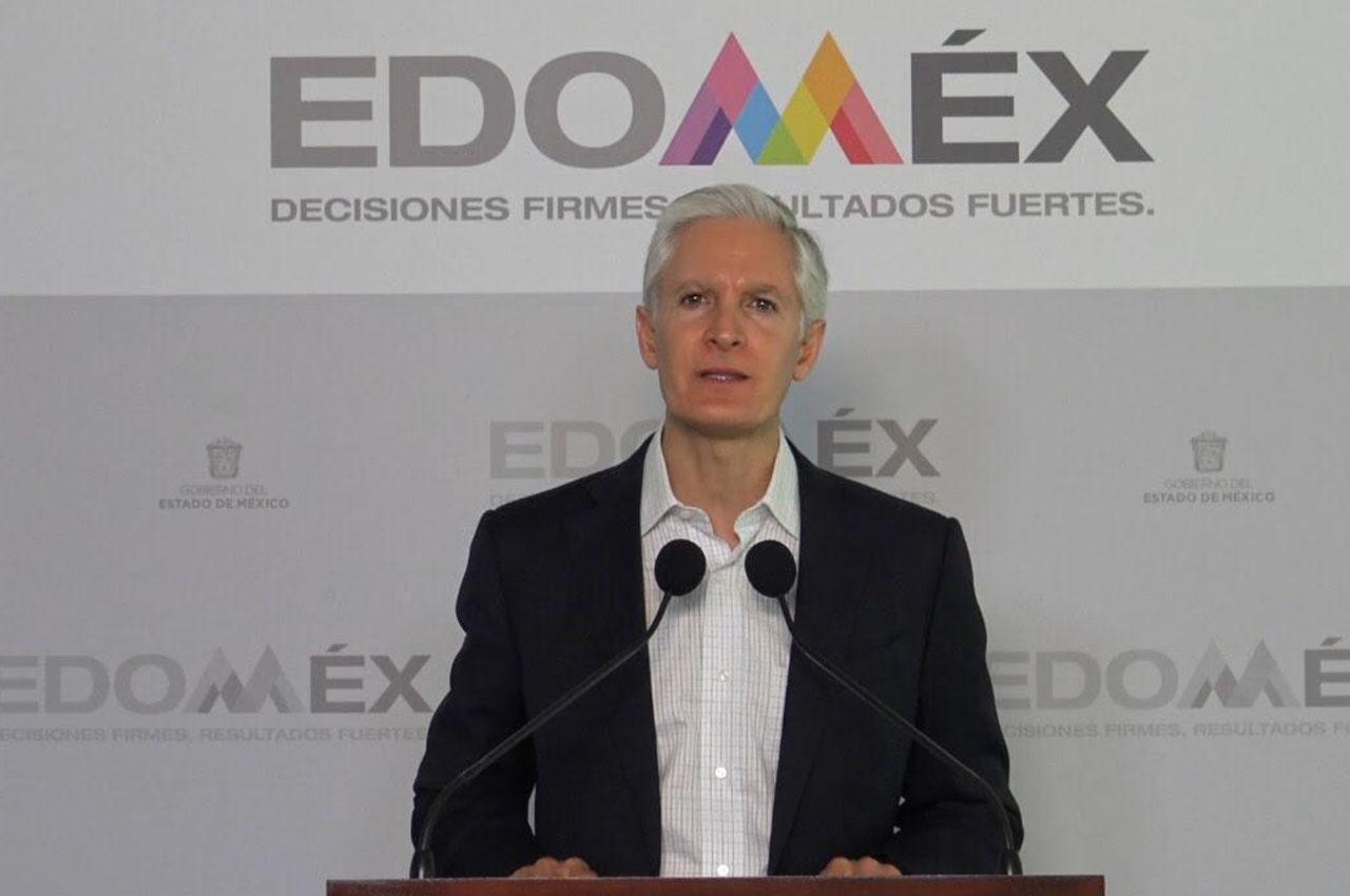 Seguridad de las familias mexiquenses es prioridad: Del Mazo