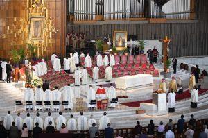 Piden a Virgen de Guadalupe interceda ante coronavirus COVID-19
