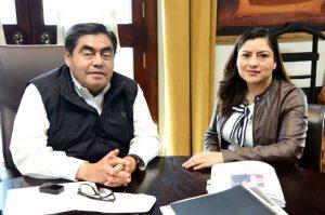 Perfiles de seguridad de Barbosa, ligados a García Luna: Alcaldesa de Puebla