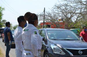 Tamiahua, primer municipio en poner su propio muro para frenar al coronavirus