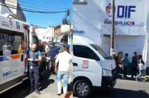 Asesinan a balazos a una mujer en el centro de Huixquilucan