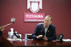 Arturo González supervisa reencarpetado en Tijuana, a través de videoconferencia