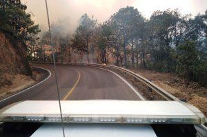 Controlan incendio forestal en Ayutla, Oaxaca