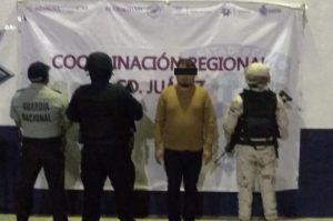 Ciudad Juárez: detienen a uno de los más buscados en EUA