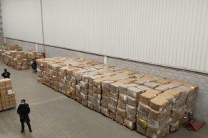Recuperan en Tultitlán cargamento de cubrebocas valuado en 60 mdp
