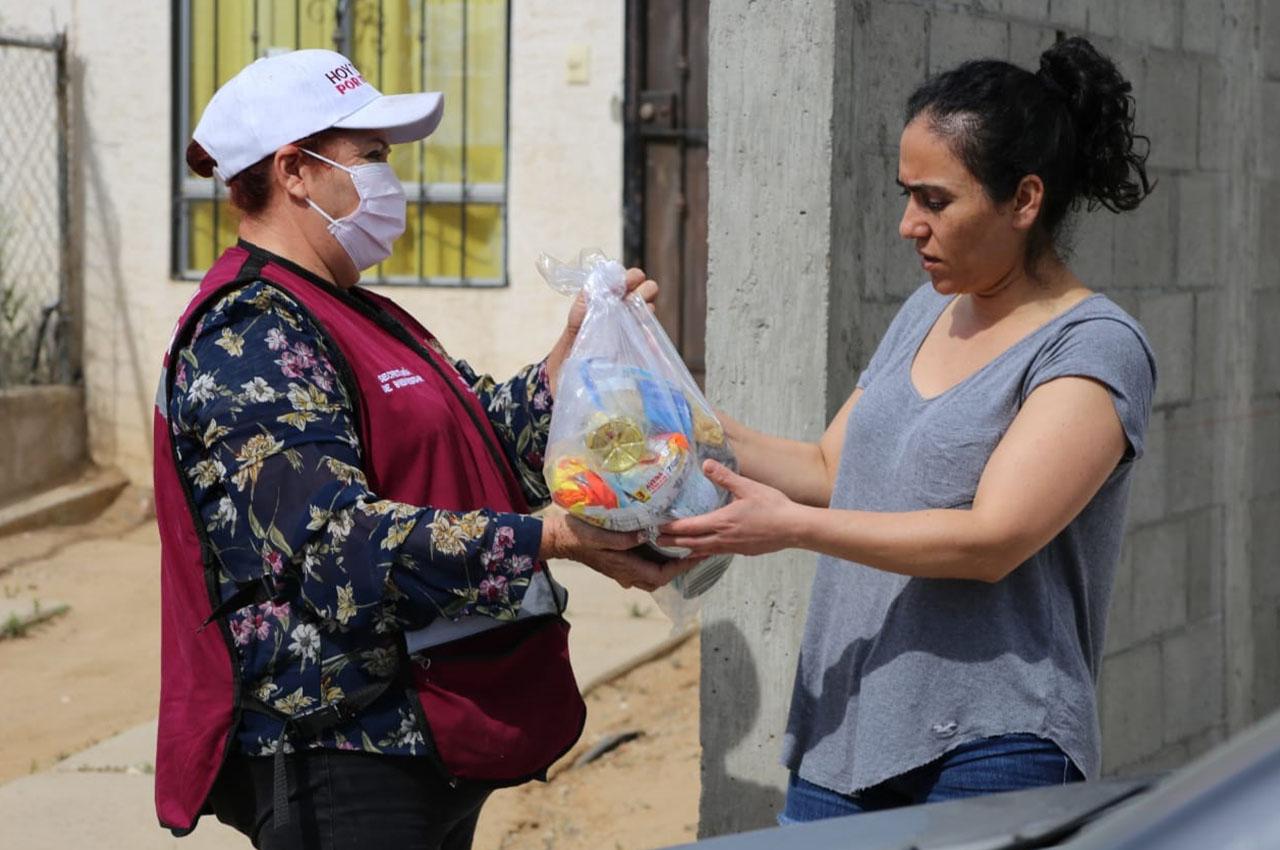 Tijuana distribuye más de 700 mil despensas a familias que más las requieren