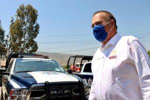 Alcalde Arturo González entrega 200 patrullas a la policía municipal