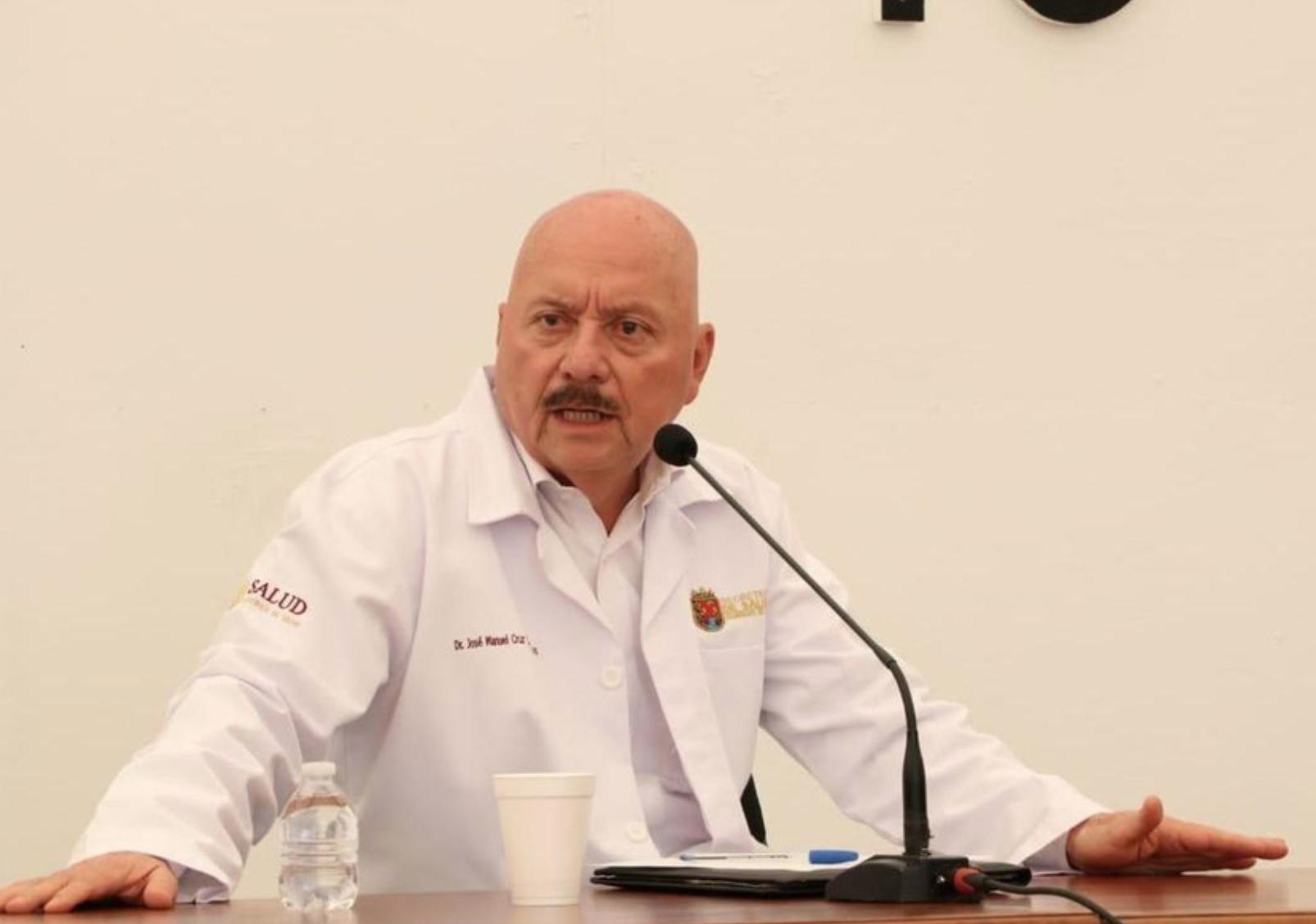 """Enfermos de Covid, quedan medio """"chafiretes"""", asegura secretario de Salud de Chiapas"""