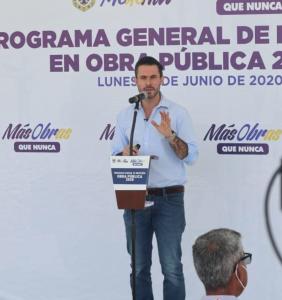 Anuncia alcalde de Medellín, Polo Deschamps, 38 mdp para obra pública