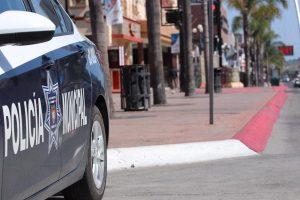 Fiscalía de BC determinará situación de policías que participaron en hechos de gasolinería en Tijuana