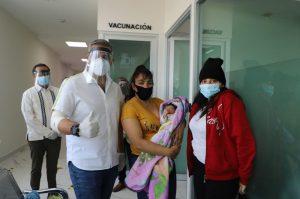 Entra en operación clínica materno infantil de Ecatepec; salvan la vida a madre de 17 años y su bebé
