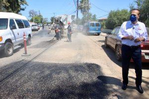 Municipio rehabilita calles de Playas de Tijuana