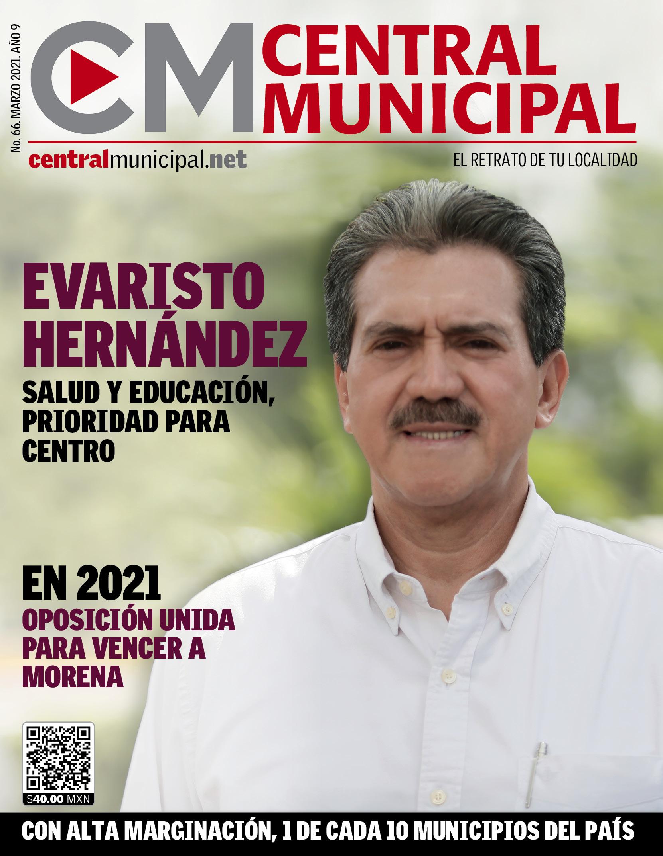 Evaristo Hernández Marzo 2021