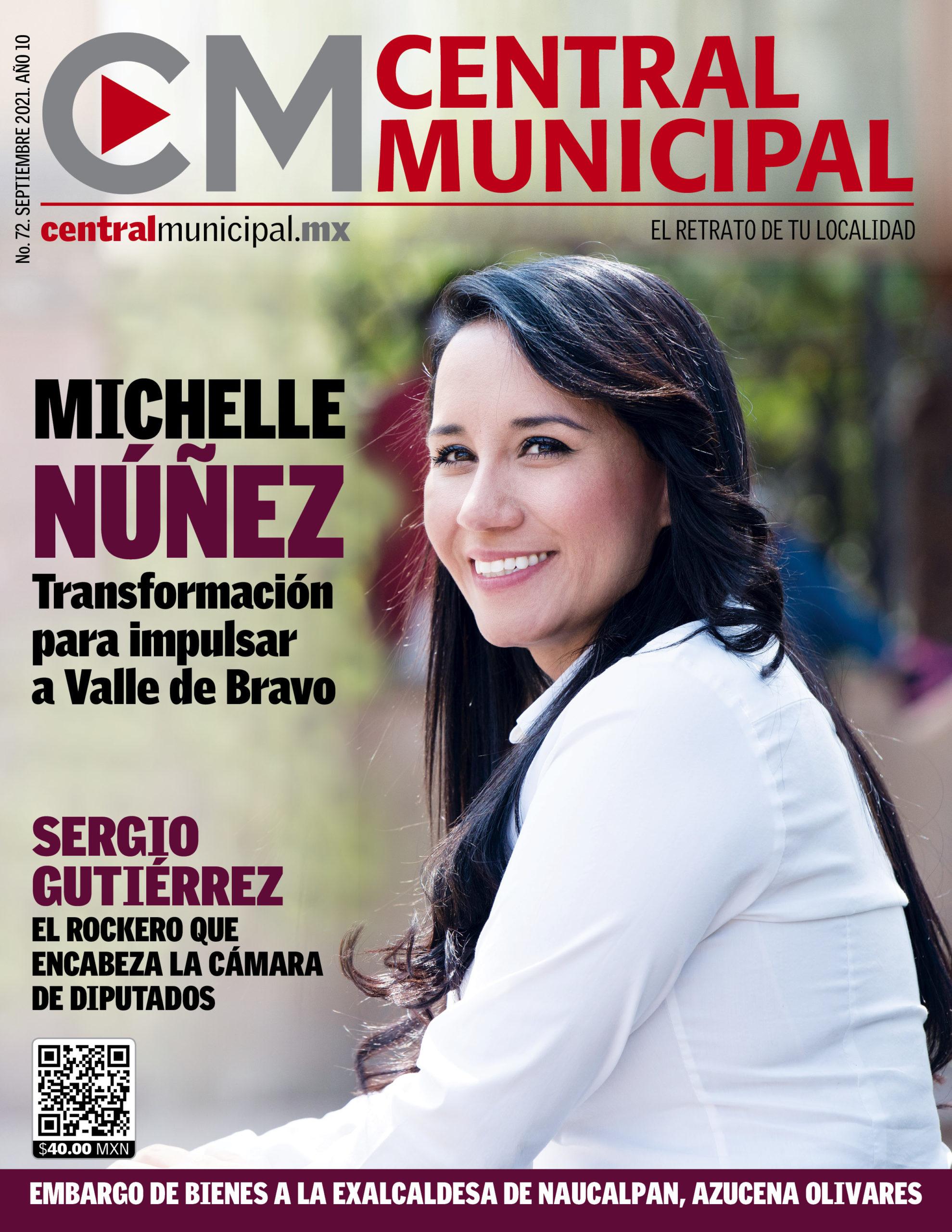 Michelle Núñez en Central Municipal, Septiembre 2021